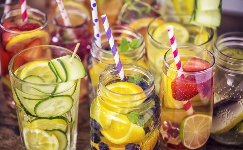 The Benefits of Drinking Infused Water